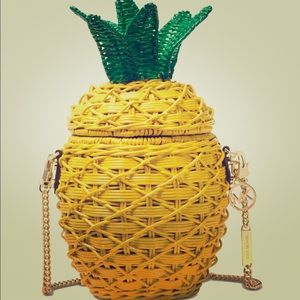 Pineapple summer bag straw MK bag new